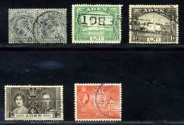 ADEN POSTMARKS INCLUDING PAQUEBOTS - Aden (1854-1963)