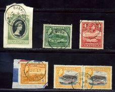 ANTIGUA BARBUDA GREAT POSTMARK LOT QE2 - Antigua & Barbuda (...-1981)