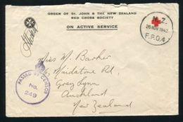 NEW ZEALAND RED CROSS WORLD WAR TWO 1942 - New Zealand