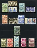 PERU 1949 PICTORIALS WATERLOW SPECIMENS PAIRS - Peru