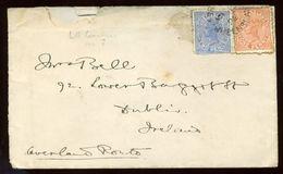 IRELAND COVER FROM QUEENSLAND 1892 - Ireland