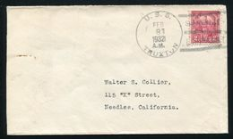 U.S. NAVY U.S.S. TRUXTON SHANGHAI, CHINA 1932 - Postal History