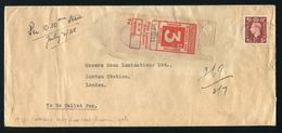 KING GEORGE 6TH RAILWAY MAIL PARCELS DEPT LIVERPOOL - 1902-1951 (Kings)