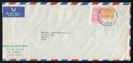 SAUDI ARABIA KHOBAR TO ITALY 1961 AIRMAIL - Saudi Arabia