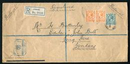 GB KING GEORGE V REGISTERED MARITIME CANADIAN PACIFIC SS EMPRESS DE FRANCE 1920 - 1902-1951 (Kings)