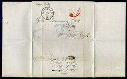 PUERTO RICO/GB FOREIGN POST OFFICES 1862/USA - Postmark Collection