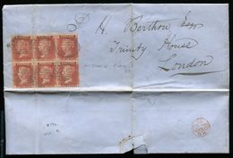 GB 1865 1d RED LIGHTHOUSES TRINITY HOUSE - 1840-1901 (Victoria)
