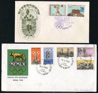 ROME 1960 OLYMPICS ITALY AND KOREA - Italy