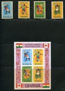 GHANA OLYMPICS MONTREAL 1976 IMPERF - Gold Coast (...-1957)