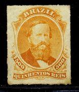 BRAZIL 1876-77 500r - Brazil