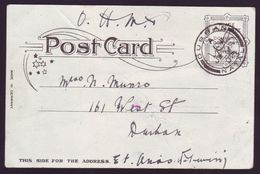 NATAL KING EDWARD 7TH OHMS POSTCARDS - UNUSUAL! - South Africa (...-1961)