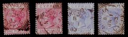 CYPRUS 1881 QV NICE LOT - Cyprus (...-1960)