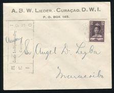 CURACAO VENEZUELA FIRST FLIGHT 1930 - Venezuela