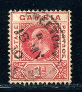 GAMBIA USED ABROAD IN SIERRA LEONE KED 7 - Sierra Leone (...-1960)