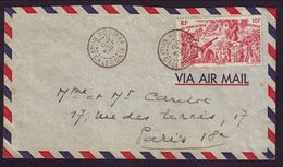 NEW CALEDONIA 1947 COVER TO PARIS - Europe (Other)