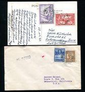 SIERRA LEONE LIBERIA USA COMBINATION COVERS 1936 AND 1948 - Sierra Leone (1961-...)