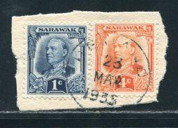 SARAWAK REJANG POSTMARK KING GEORGE 5TH 1935 - Great Britain (former Colonies & Protectorates)