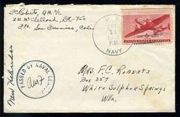 US NAVY WW2 ESPIRITV SANTOS NEW HEBRIDES - Event Covers