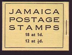 JAMAICA GEORGE VI BOOKLET - Jamaica (...-1961)