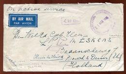 SINGAPORE WWII NETHERLANDS P.O. 1946 - Singapore (...-1959)