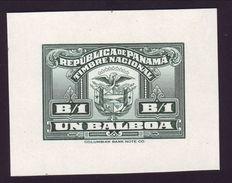 PANAMA 1940 1B DIE PROOF - Panama