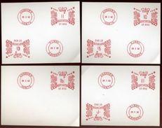 GB PITNEY BOWES SPECIMENS ANDOVER,HAMPSHIRE - 1952-.... (Elizabeth II)