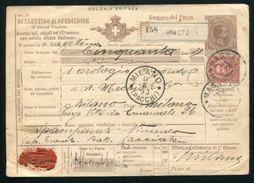 ITALIAN COLONIES ERITREA STATIONERY MASSAUA 1893 - Italy