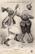 Cpa Humoristique Guerre 1914, Représailles  D'un Turc Sur Un Prussien (49.34) - Humour
