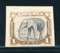 LIBERIA 1906 ELEPHANT PROOF - Liberia
