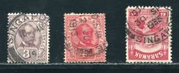 SARAWAK MARITIME PAQUEBOT SINGAPORE 1913-35 - Great Britain (former Colonies & Protectorates)