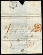 GB QV WOLVERHAMPTON HANDSTRUCK LETTER - Postmark Collection
