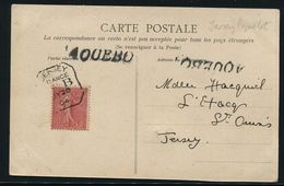CHANNEL ISLANDS EMERALD COAST FRANCE 1904 MOBILE BOX JERSEY PAQUEBOT 1904 - Europe (Other)