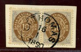 DANISH WEST INDIES 1873 10c - Denmark