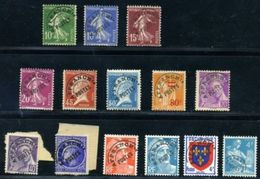 FRANCE 1921-53 GROUP OF PRE-CANCELS - Europe (Other)