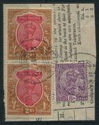 INDIA USED ABROAD ABADAN PERSIA GEORGE FIFTH 1922 - India (...-1947)