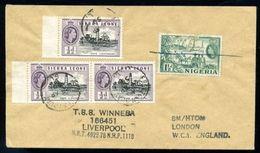SIERRA LEONE NIGERIA MARITIME 1959 - Sierra Leone (...-1960)