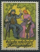 GERMANY CINDERELLA WORLD WAR ONE WOUNDED - Germany