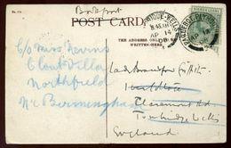 SIERRA LEONE CONGO TOWN MARITIME 1908 - Sierra Leone (...-1960)