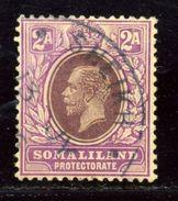 BRITISH SOMALILAND RARE POSTMARK SHEIKH KG5 - Somaliland (Protectorate ...-1959)
