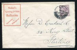 GB ADVERTISING GLASGOW RIFLES SHOOTING QV 1899 - 1840-1901 (Victoria)