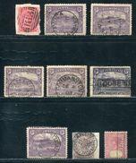 TASMANIA POSTMARKS INCLUDING NUMERAL AND MARITIME - 1853-1912 Tasmania