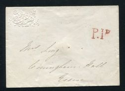 GB STATIONERY VICTORIA ESSEX 1842 ROMFORD - 1840-1901 (Victoria)