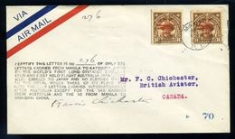 1931 CRASH AND WRECK AUSTRALIA PHILIPPINES JAPAN GB - Philippines