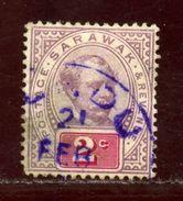 SARAWAK LUNDU POSTMARK - Sarawak (...-1963)