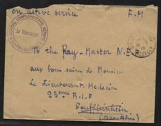 FRANCE 1943 SAARLAND HOSPITAL COVER - Europe (Other)