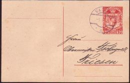LICHTENSTEIN 1918 POSTCARD - Liechtenstein