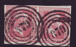 PRUSSIA, GERMANY 1857 1sgr PAIR- SCARCE! - Germany