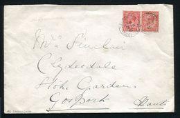 GB GEORGE 5TH ROYAL COVER SANDRINGHAM NORFOLK 1916 - 1902-1951 (Kings)