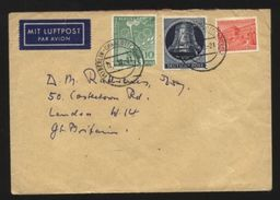 GERMANY 1952 OLYMPICS/BELL COVER - Germany