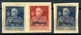 ITALIAN COLONIES CYRENAICA 1925 ROYAL JUBILEE - Italy